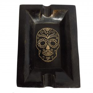 Ashtray Day of the Dead Skull